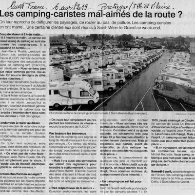 Ouest france 6 avril